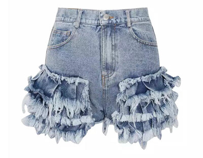 Peplum Stacked Shorts