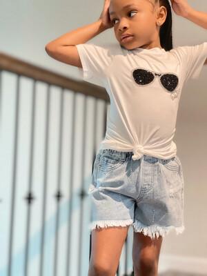 Ivory Diva Sunglasses T-shirt