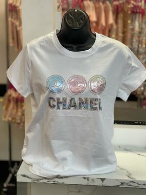 Three Ring CC T-Shirt - White