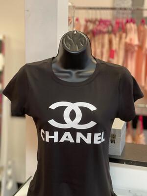 Double C T-Shirt - Black
