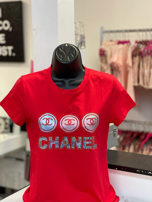 Three Ring CC T-Shirt - Red