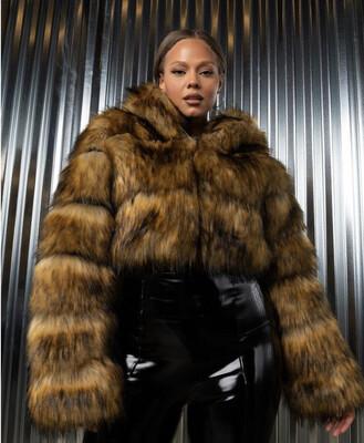 Set It Off Faux Fur Jacket