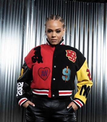 Paris Varsity Jacket