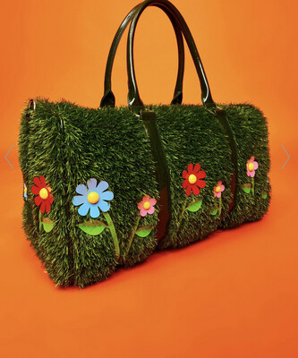 The Grass Is Greener Duffle Bag