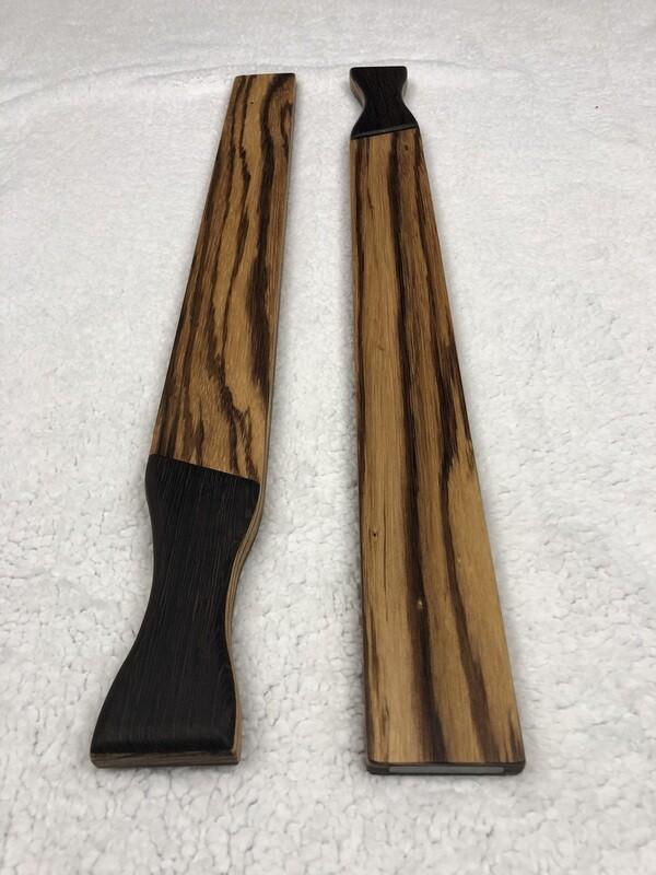 Wood and Steel - 2.5 lbs - Zebrawood with Wenge