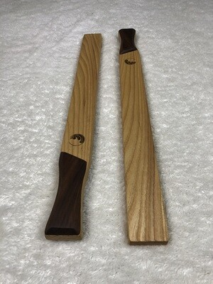 Tai Chi Sticks - 1.5 lbs Ash with Walnut Handles