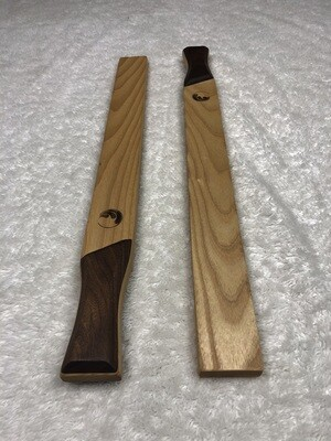 Tai Chi Sticks - 1 lbs Ash with Walnut Handles