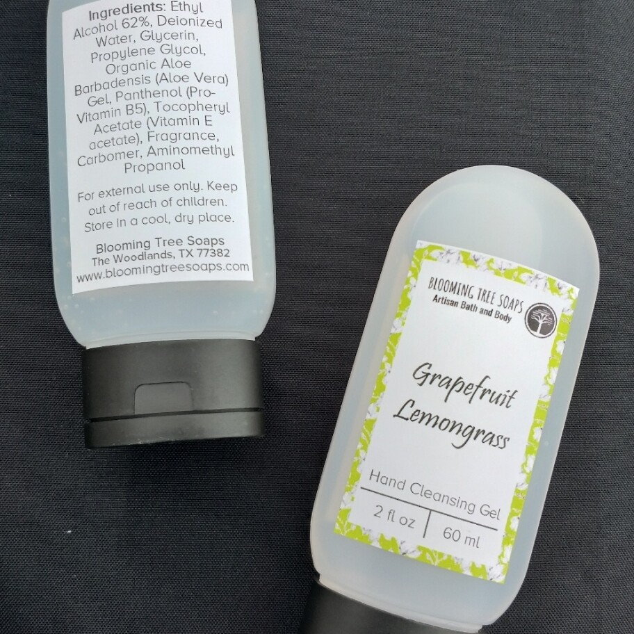 Grapefruit Lemongrass Hand Cleansing Gel