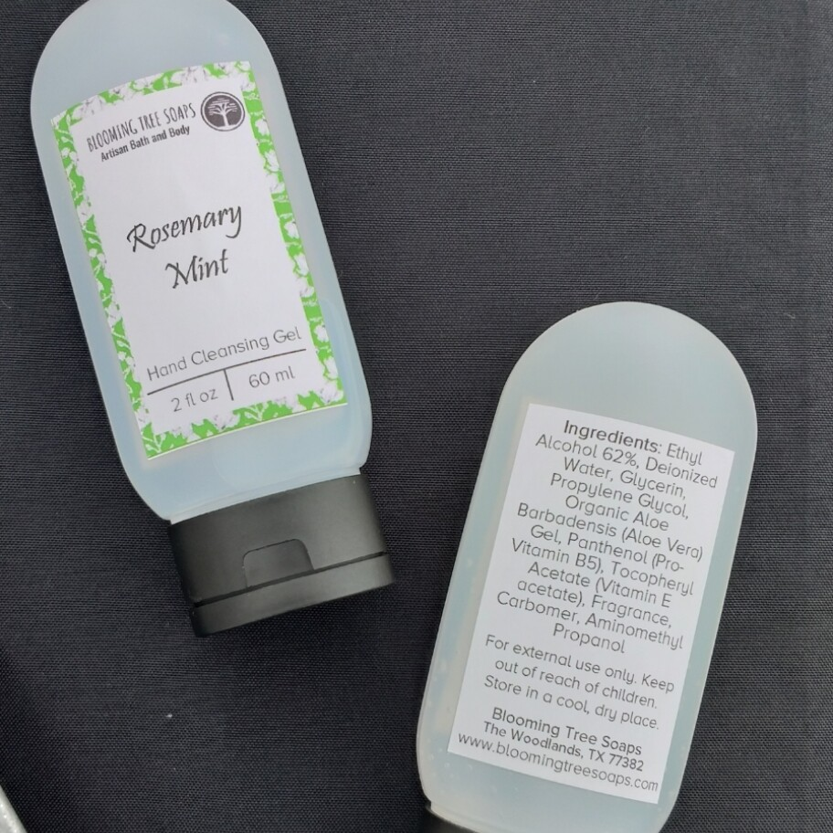 Rosemary Mint Hand Cleansing Gel