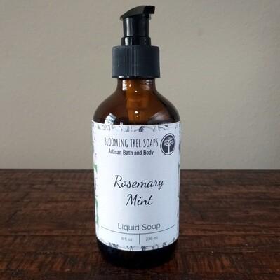 Rosemary Mint Liquid Soap