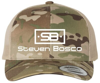 Steven Bosco Camo Hat