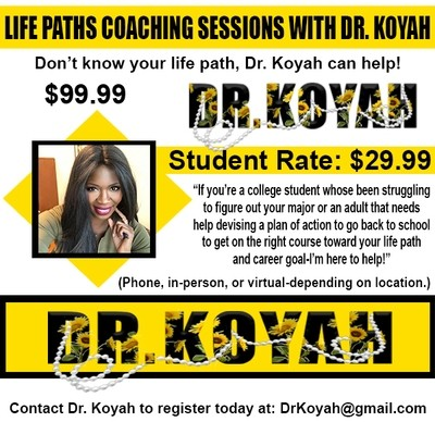 """""""Life Paths Coaching Session"""" (Student Discount Rate)"""