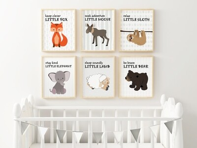 Baby Animal Posters