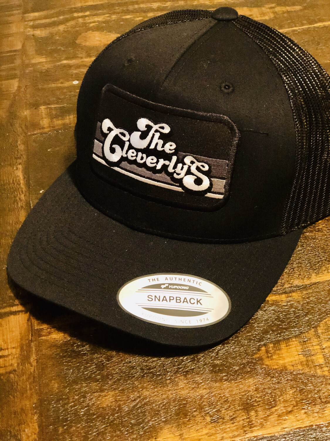 The Cleverlys Hat In black
