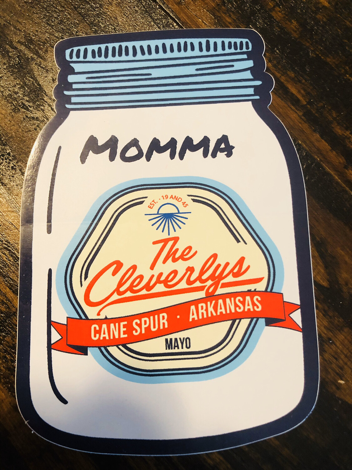 The Cleverlys Sticker