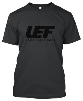 UEF T-SHIRT (BLACK)