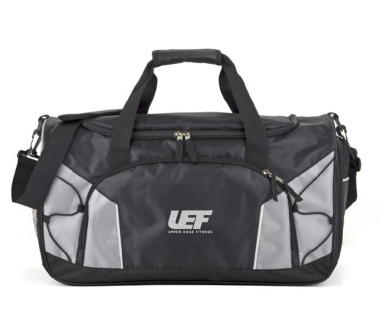 UPPER EDGE FITNESS GYM BAG