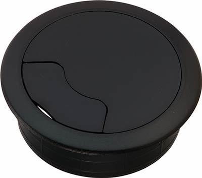 Kabelauslass Kunststoff 60mm schwarz