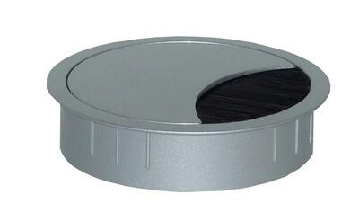 ZAMAK 60mm weiss aluminium