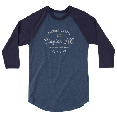 3/4 Sleeve Shirt - Calvary Chapel Clayton