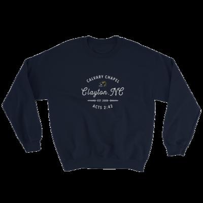 Navy Sweatshirt - Calvary Chapel Clayton