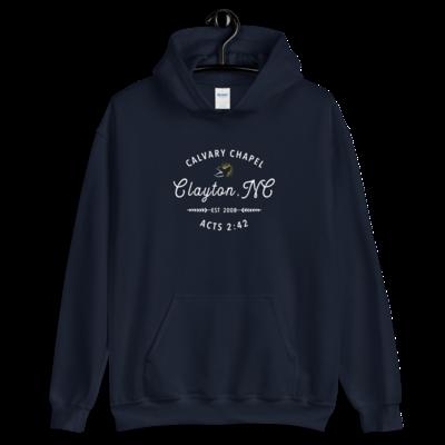 Navy Hoodie - Calvary Chapel Clayton