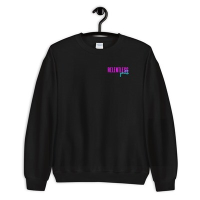 80's Relentless Youth - Black Unisex Sweatshirt