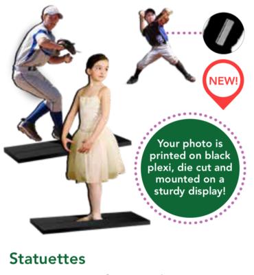 5x7 Statuette