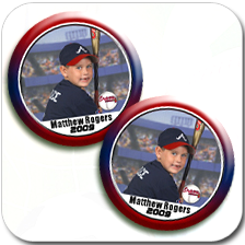 Three Inch Buttons (set of 2)