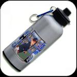 Aluminum Water Bottle w/ Individual Portrait