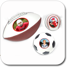 Full Size Photo Ball (Basketball, Football, Volleyball)