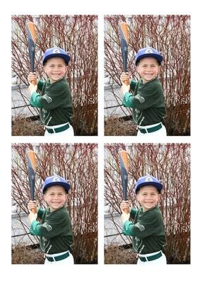 3x5 Individual Photos (set Of 4)