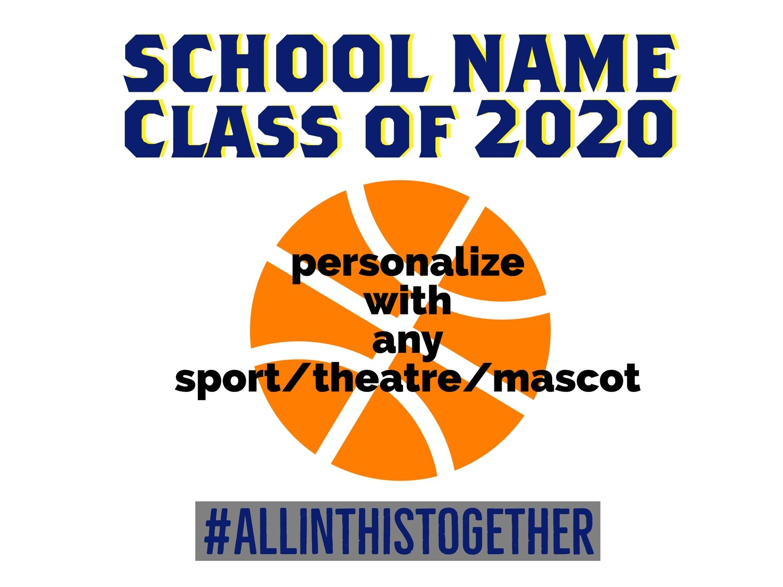 Custom YARD SIGNS Class Of 2021 Any School!