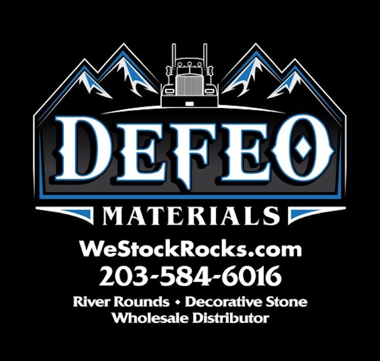 DeFeo Sticker (Black)