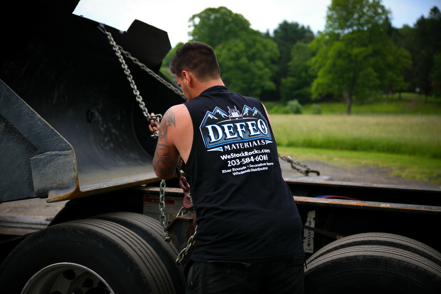 DeFeo Materials Tank Tops