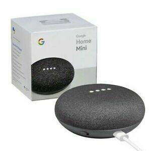 Google Mini Speaker Charcoal