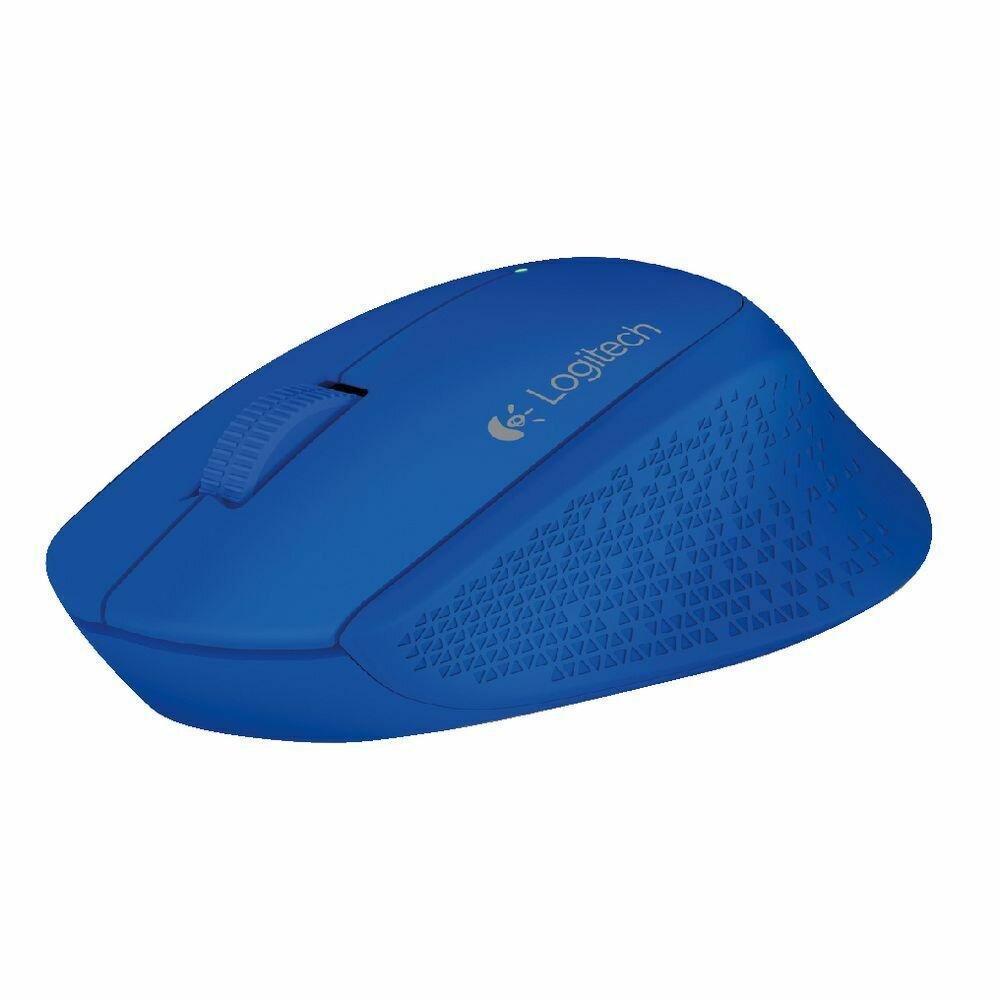 910-004297: Logitech M280 Wireless Mouse Blue