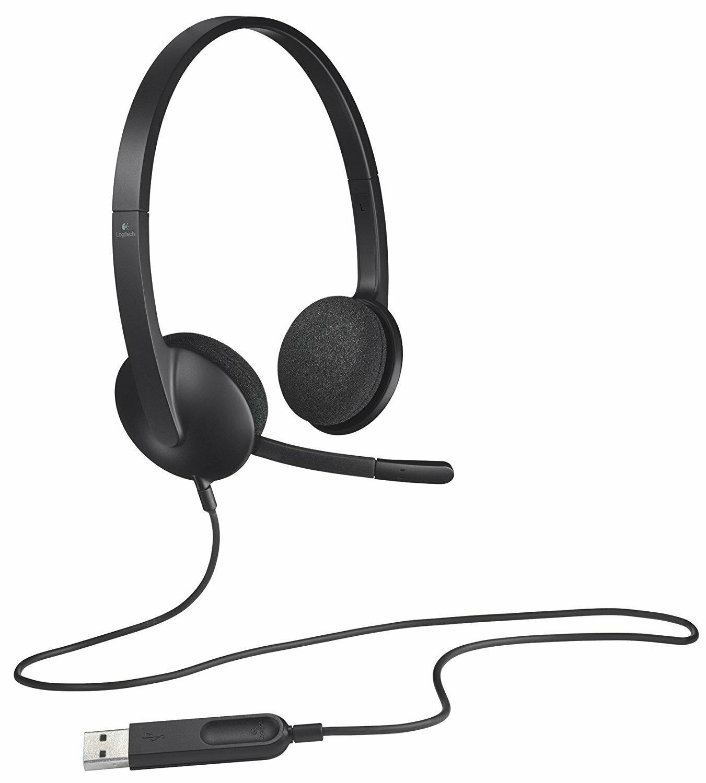 981-000477: Logitech H340 USB Headset