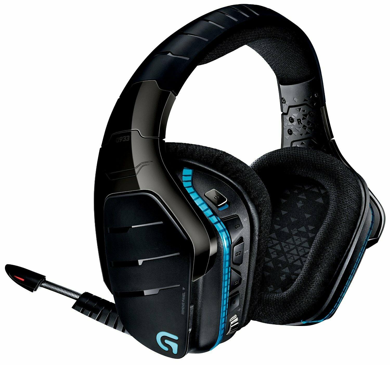 981-000600: Logitech G933 Wireless Artemis Spectrum 7.1 Surround Gaming Headset