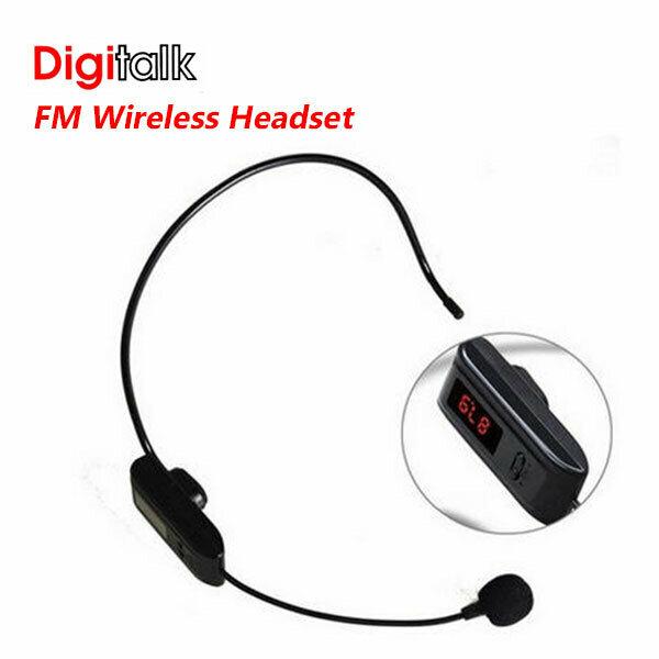Digitalk FM Wireless Headset FOR F-37B