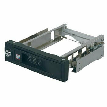 """ICY BOX Trayless Mobile Rack for 3.5"""" SATA HDDs (IB-168SK-B)"""