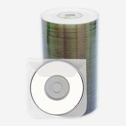 Intact Mini DVD-R 1.4GB Whitetop Printable 50pcs Spindle with Sleeves