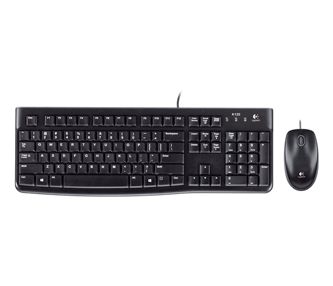 Logitech Desktop MK120 Keyboard and Mouse (920-002586)