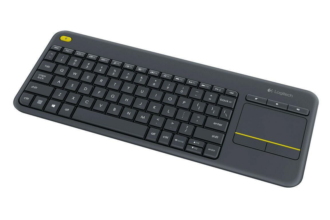 Logitech K400 PLUS Touch Wireless keyboard - Black (920-007165)