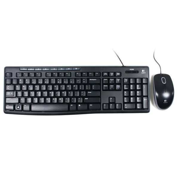 Logitech MK200 Media Keyboard Mouse (920-002693)