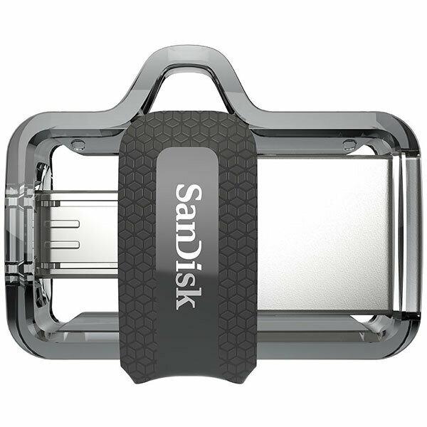SANDISK OTG ULTRA DUAL USB DRIVE 3.0 FOR ANDRIOD PHONES 256GB 150MB/S SDSDDD3-256G