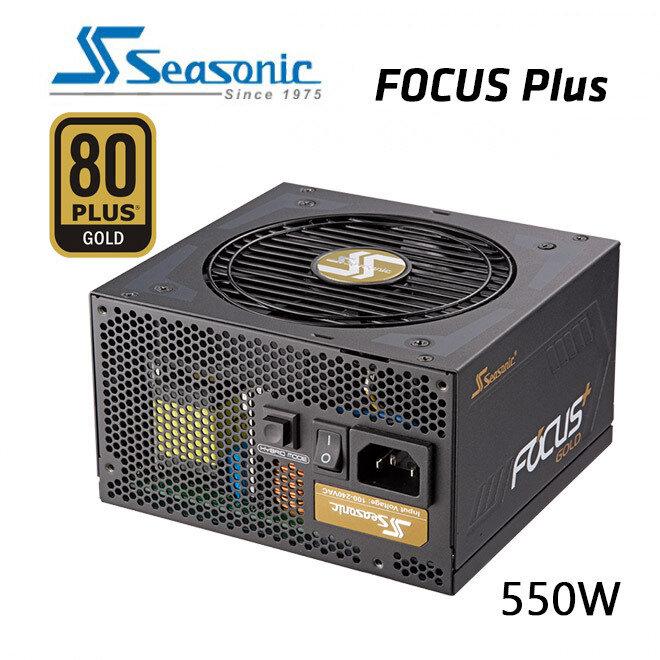 SeaSonic 550W FOCUS PLUS Gold PSU (SSR-550FX)
