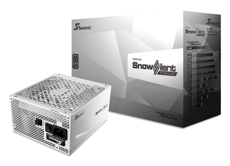SeaSonic 750W PRIME Snow Silent PSU (SSR-750TR-SNOWSILENT)