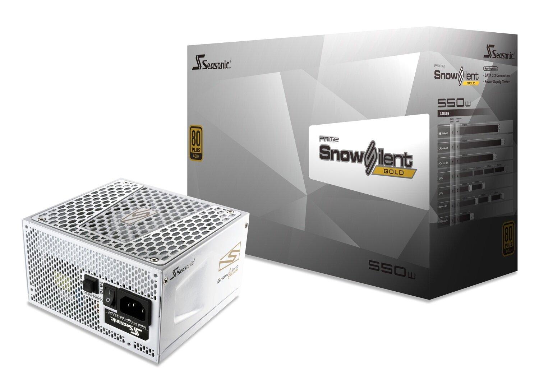 SEASONIC PRIME  SSR-550GD2-SNOWSILENT 550W 80 PLUS GOLD FULL MODULAR PSU