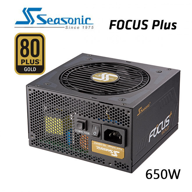 SEASONIC SSR-650FX FOCUS PLUS 650W 80 + GOLD Power Supply  GX-650 ( OneSeasonic )